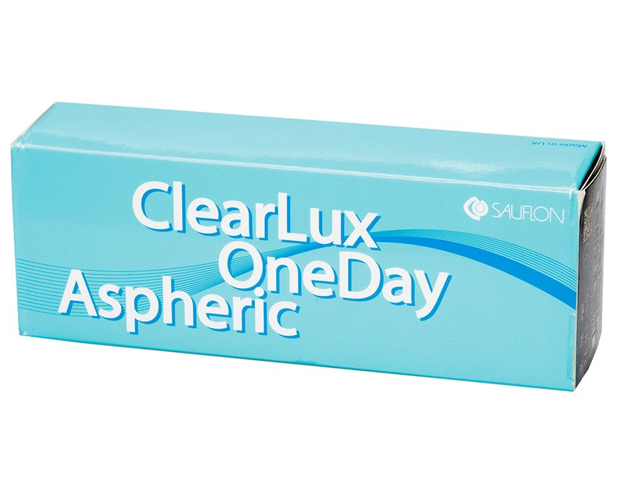 ClearLux One Day Aspheric (30 шт.) 2 упаковки (знижка 3%)