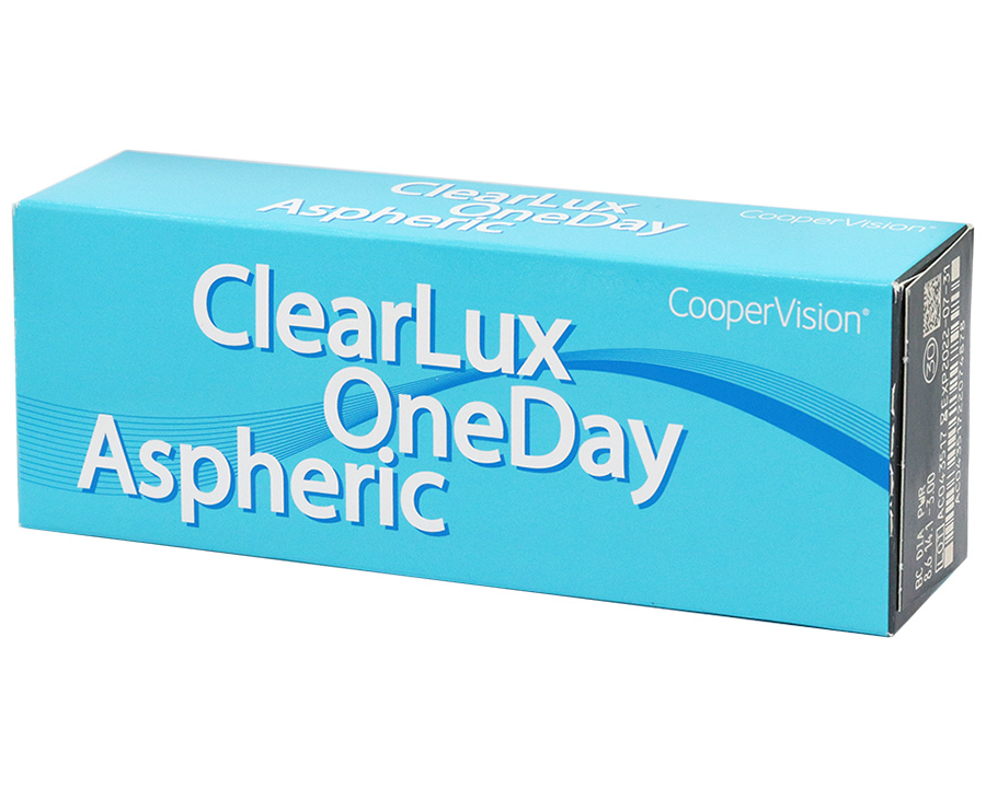 ClearLux One Day Aspheric (30 шт.) 3 упаковки (знижка 5%)