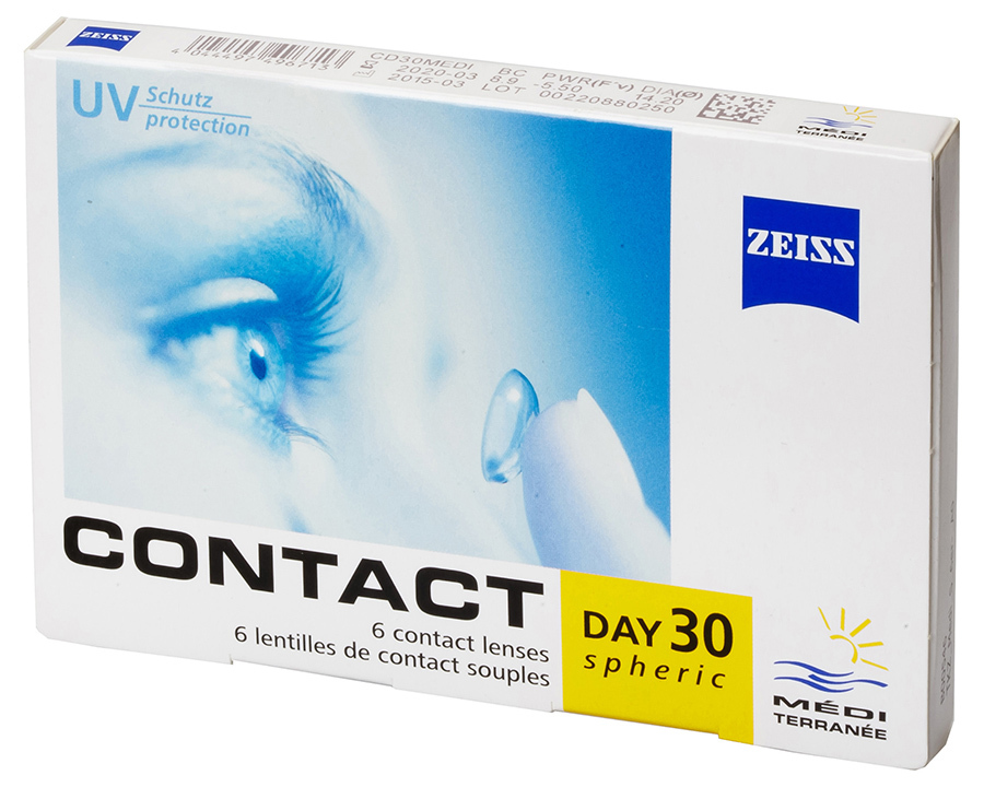 Zeiss Contact Day 30 Mediterranee